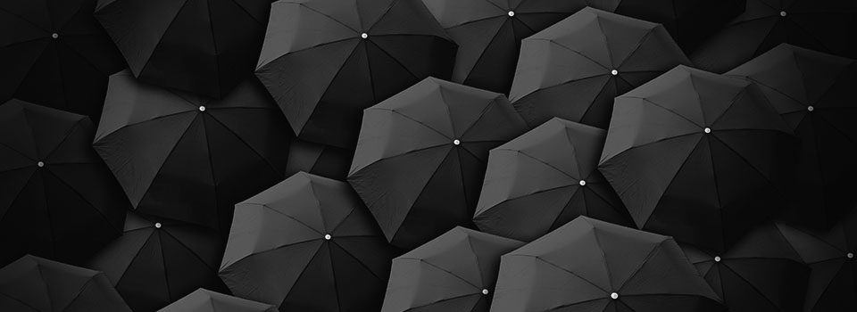 Image of grey umbrella
