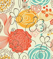 Decorative Floral Print