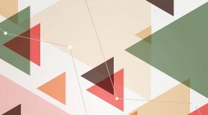triangles in abstract vector background