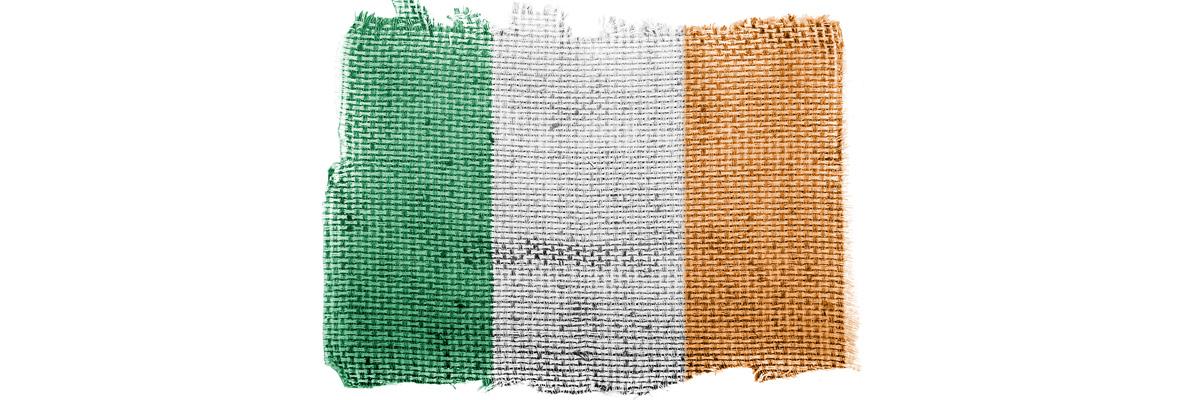 Woven Irish Flag