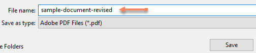 Save the PDF file as a different name to set the PDF/UA identifier