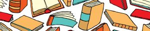 Illustration of different types of printed books