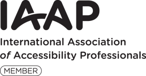 International Association of Accessibility Professionals (IAAP) Logo