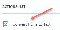 Actions List - Adobe Acrobat Pro DC