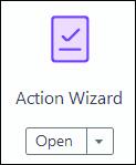 Adobe Acrobat PDF Action Wizard button